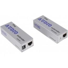 Extendeur Audio (micro+HP) sur cable Cat5 RJ45