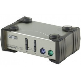 ATEN MasterView CS82 Switch KVM 2 U.C. PS2 + Cables