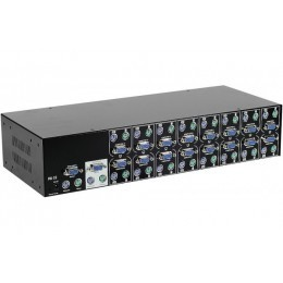 "KVM  Rackable 19"" Cascadable + OSD - 16 U.C"