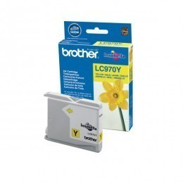 Brother Cartouche d'encre LC970Y jaune