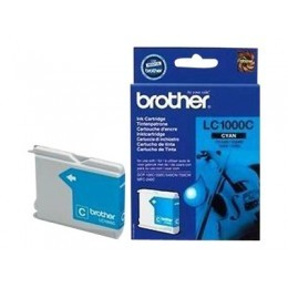 Cartouche d'impression original Brother LC1000C Bleu