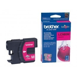 Cartouche d'impression original Brother LC980M Magenta