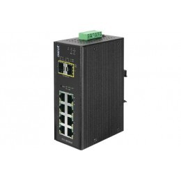 Planet IGS-10020MT switch industriel L2 8 gigabit + 2 sfp 100FX/1G