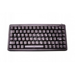 Cherry clavier miniature qwerty usb + PS2 noir 86 touches