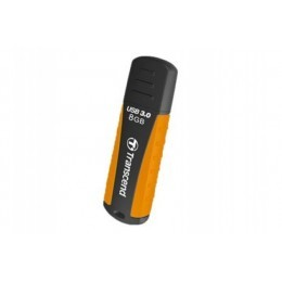 Clé usb 3.0 transcend jetflash 810 de 8 giga octet orange et noir