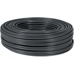 Cable Multibrins F/UTP Categorie 5E Noir - 100 Metres Bobine