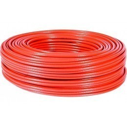 Cable multibrin f/utp categorie 5e rouge 100 mètres