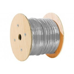 Cable multibrins F/UTP categorie 5e Couleur Gris - 1000 Metres Touret