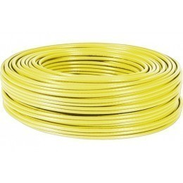 Dexlan Cable Multibrins S/FTP Categorie 6 Jaune - 100 metres Bobine