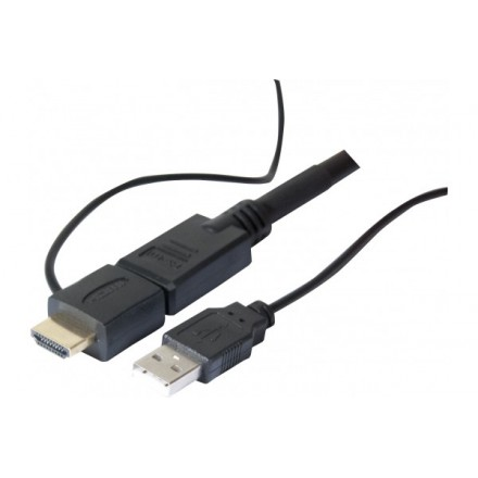 Cordon HDMI High Speed avec Ethernet et Chipset de 20 mètres