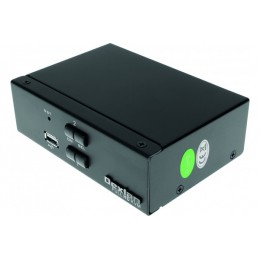 DEXLAN KVM switch 2 ports HDMI 4K - USB - Audio avec câbles