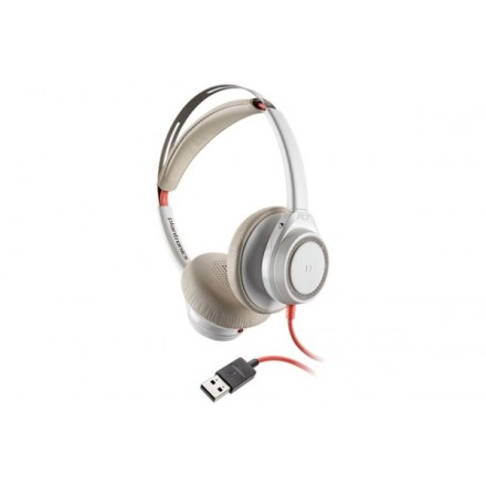 POLY Blackwire 7225 Micro Casque sans perche USB-A Blanc