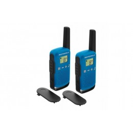 Motorola TLKR T42 2 Talkies Walkies 4 KMS bleu