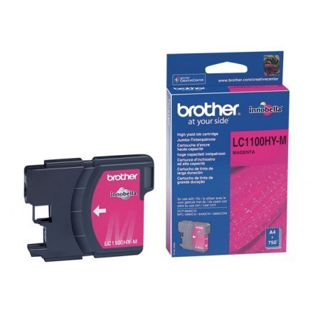 Cartouche d'encre original Brother LC1100HYM magenta