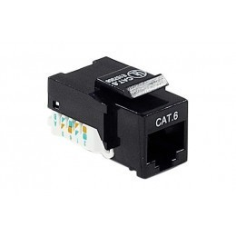 Embase RJ45 courte CAD Cat.6 - UTP non blindée