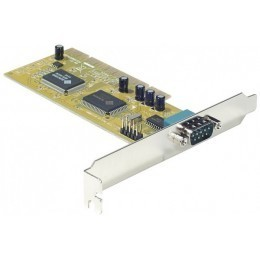 Carte PCI 1 X   série RS232 (DB9) NetMos - 1 port