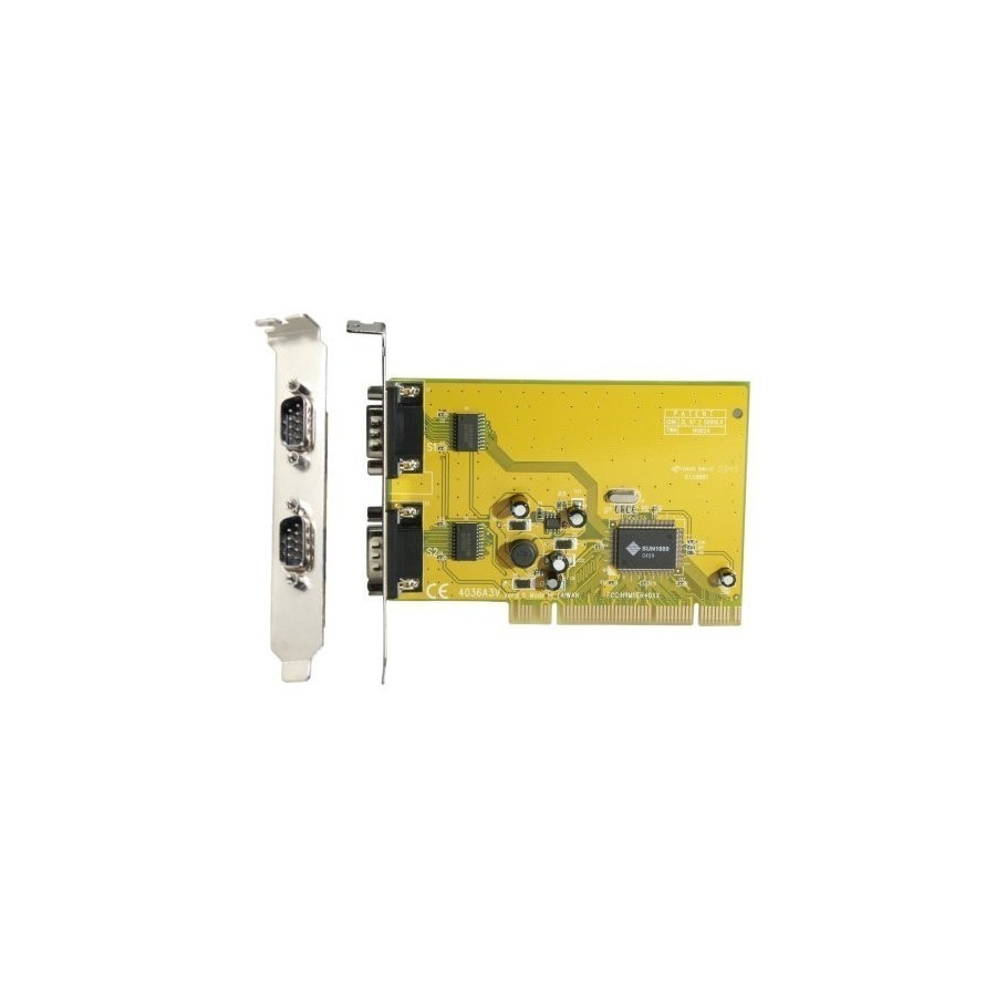 Carte PCI Sunix 2 X Com DB9 serie RS232 Chipset SUN 3,3/5V