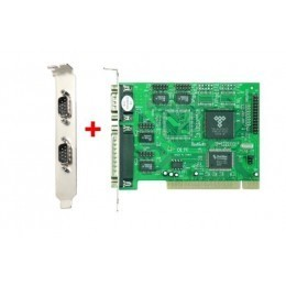 Carte PCI 4 X série RS232 4xDB9 Chipset NetMos