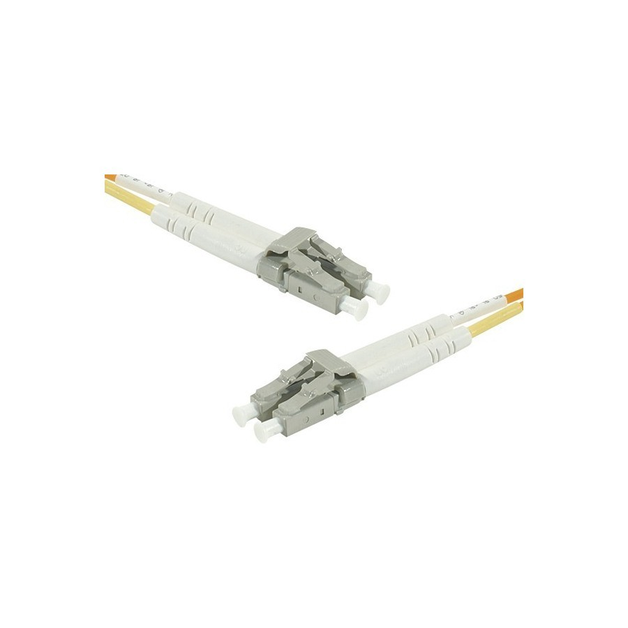 Cordon fibre optique LC/LC 62,5/125 - 5M