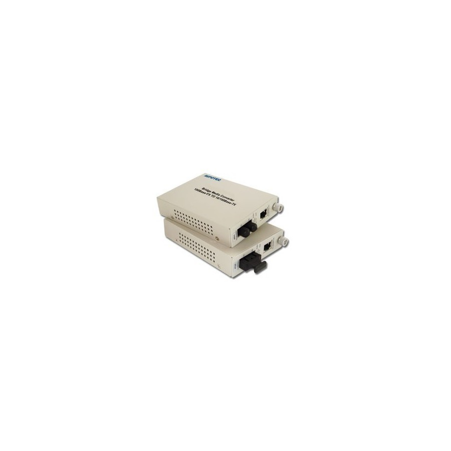 Convertisseur fibre optique/RJ45 10/100 - SC Multimode