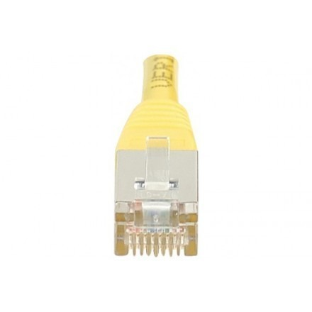 Cordon patch RJ45 F/UTP CAT6 jaune - 5m