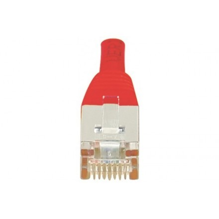 Cordon patch RJ45 F/UTP CAT6 rouge - 0,15m