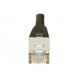 Cordon patch RJ45 F/UTP CAT6 noir - 0,15m