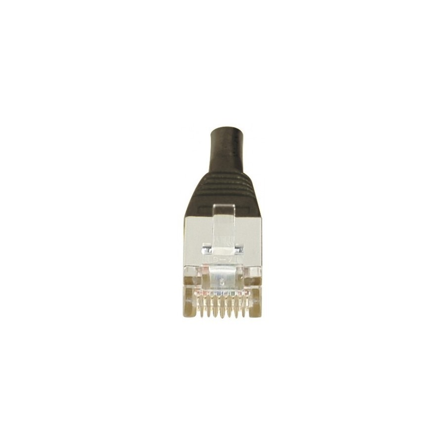 Cordon patch RJ45 F/UTP CAT6 noir - 2m