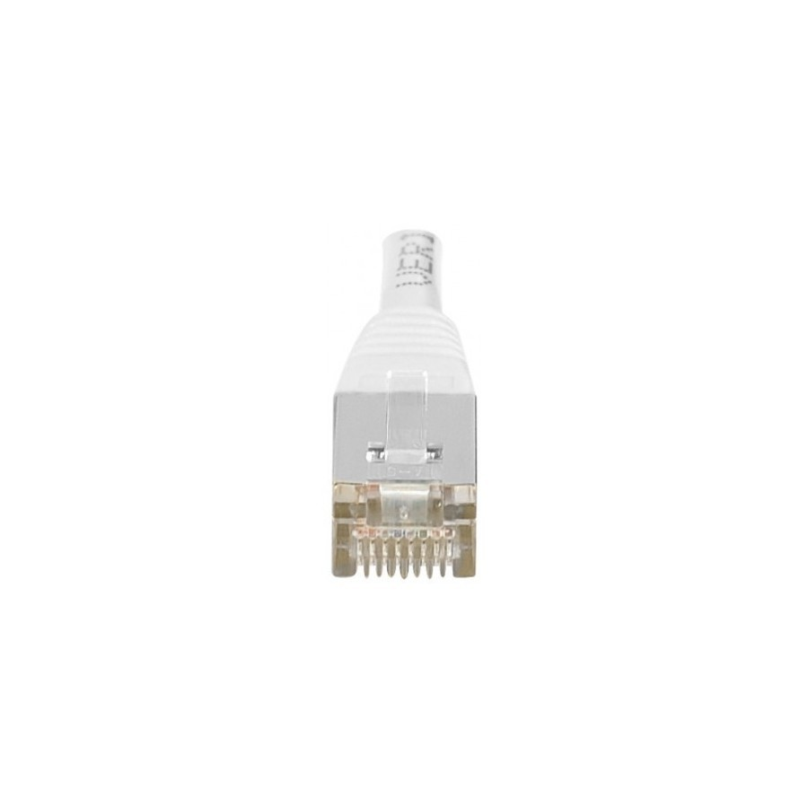 Cordon patch RJ45 F/UTP CAT6 blanc - 1m
