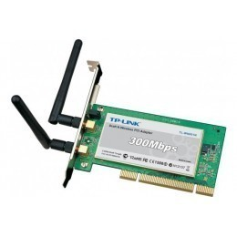 TP-Link Carte PCI WiFi TP-Link 802.11n Draft 2.0 300MBPS 2 antennes