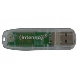 Cle usb 2.0 intenso rainbow line 32Go - Transparent