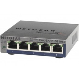 Netgear GS105E switch Prosafe+ 5 ports Gigabit manageable