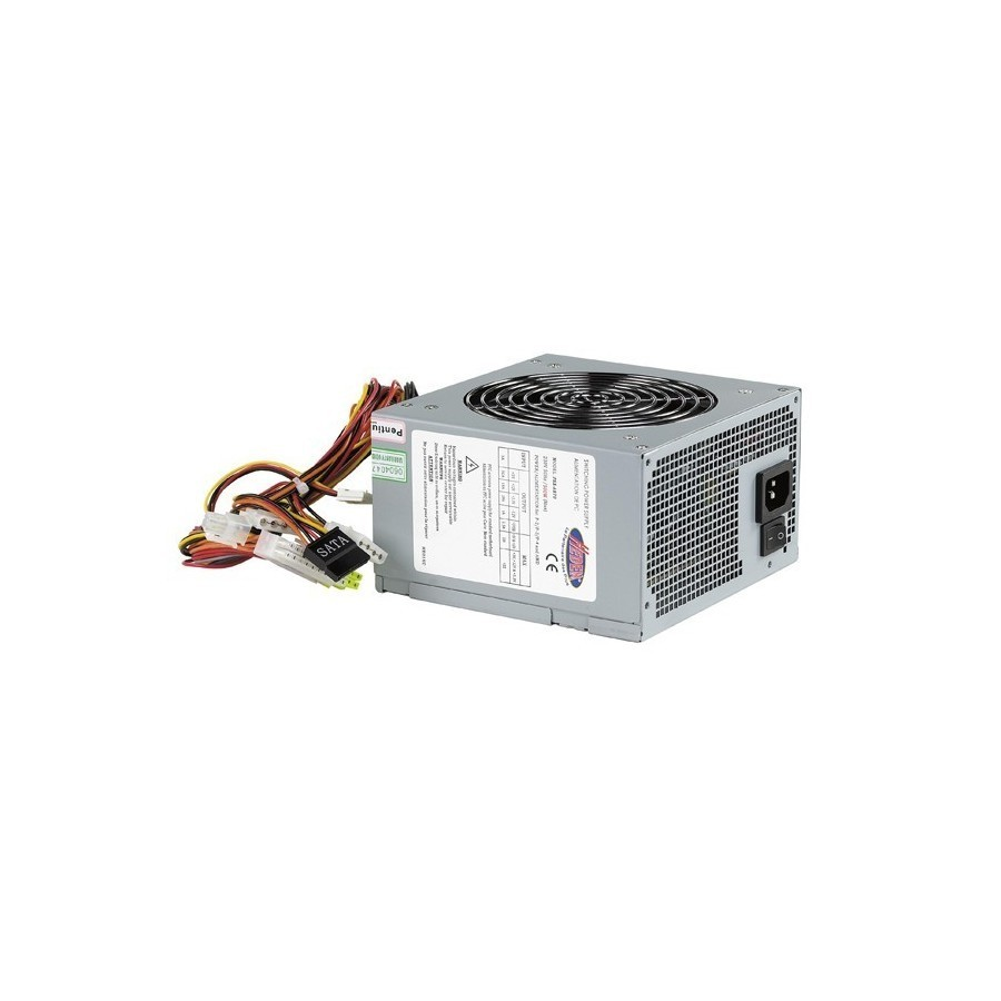 Alimentation PC ATX PFC format PSII - 500W ventil.120mm