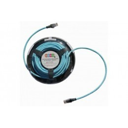 Deskpatch patchsee cat 6a ftp - bleu ciel