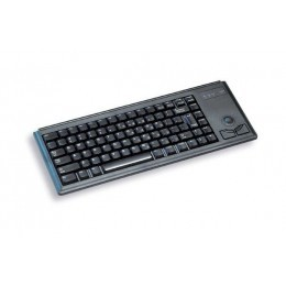 Cherry clavier miniature + trackball qwerty usb noir