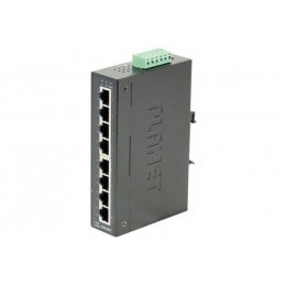 Planet Switch Indust Gigabit  -40/75° - 8 ports 10/100/1000