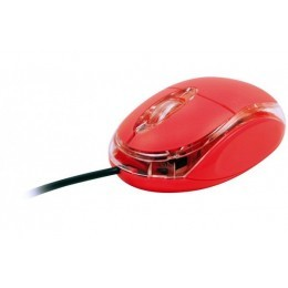 Mini souris optique usb rose led