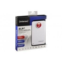 """Dd externe intenso 2""""5 1 to usb 3.0 memory case - blanc"""