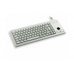 Cherry clavier slimline trackball 2x PS2 qwerty gris