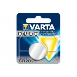 Pile bouton CR 2025 3Volts Blister de 1