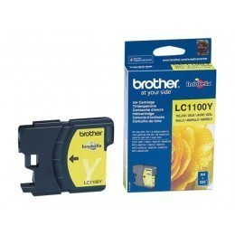 Cartouche d'impression original Brother LC1100Y Jaune