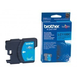 Cartouche d'impression original Brother LC1100C Bleu cyan