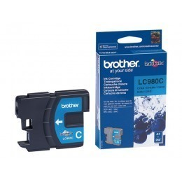 Cartouche d'impression original Brother LC980C Cyan