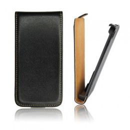 Etui Slim iPhone 5 Vertical noir