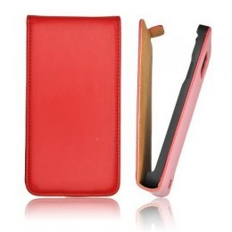 Etui Slim iPhone 5 Vertical Rouge