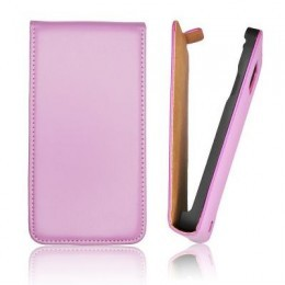 Etui Slim iPhone 5 Vertical violet