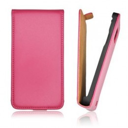 Etui Slim iPhone 5 Vertical rose