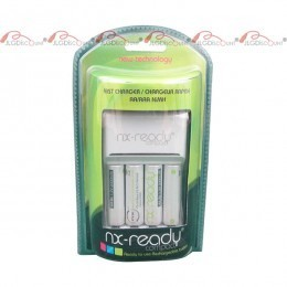 Chargeur d'accus rapide pour 4AA ou 4AAA + accus AA