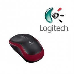 Logitech Wireless Mouse M185 Rouge