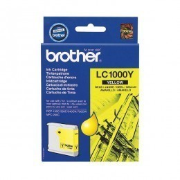 Brother Cartouche d'encre LC1000Y jaune